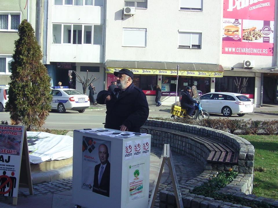 ЈАВНИ ЧАС - Еколошка бомба у Свилајнцу, Горан Борић