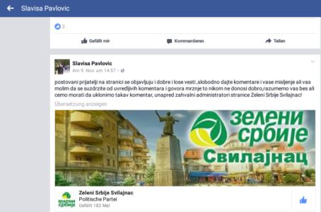 Javno preduzeće formiralo političku stranku